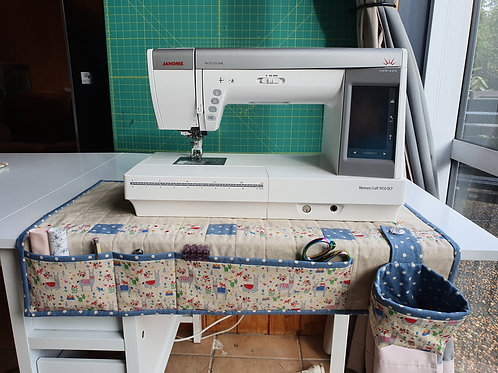 Sewing Machine Organiser Mat Pattern - Sew @ Home set