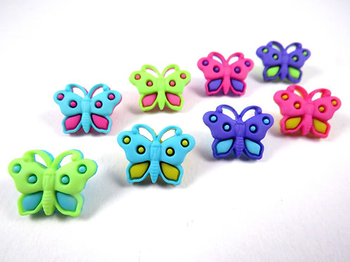 Butterflies Button Pack