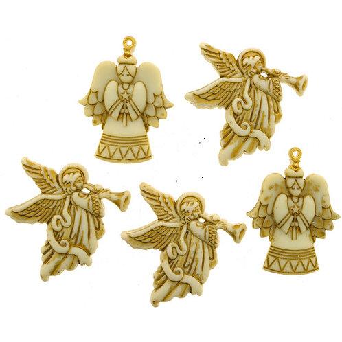 Glitter Angels Button Pack