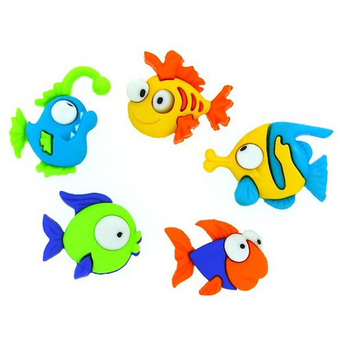 Something Fishy Button Pack