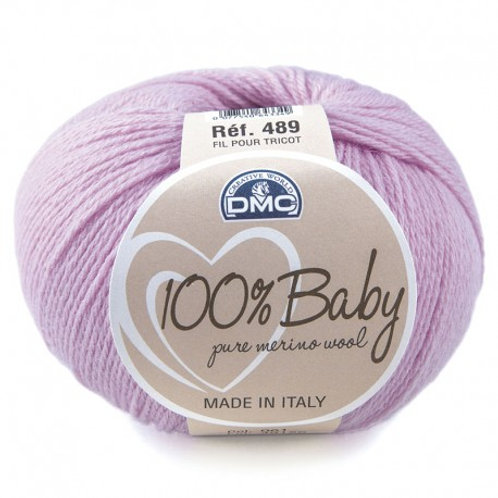 Lilac 61 Baby Merino Yarn