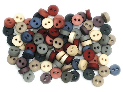 Tiny Country Buttons Button Pack