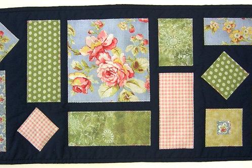 Midnight Blooms Table Runner pattern