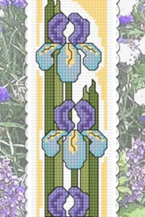 Irises - Inspiration Bookmark Kit - NZ Designer