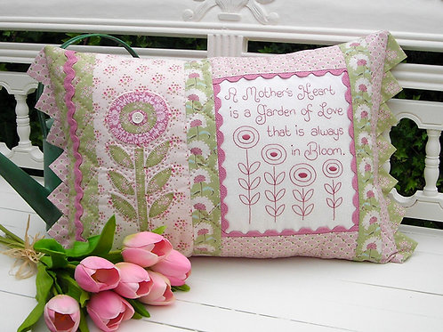 A Mother's Heart Cushion Pattern