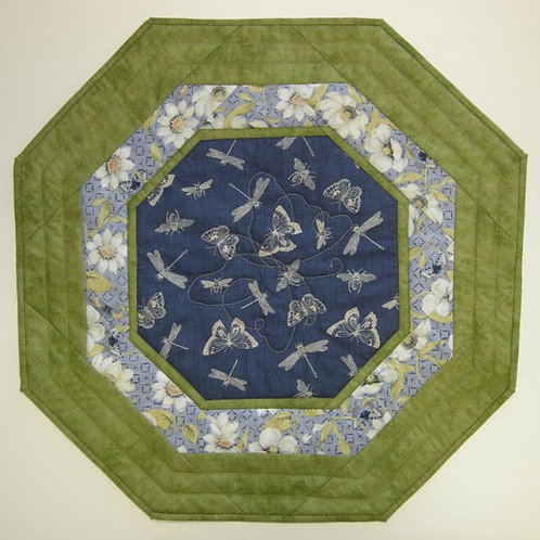 Butterfly Octagon Table Topper pattern