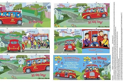 Ready, Steady, Wiggle! - Book Panel (90cm)