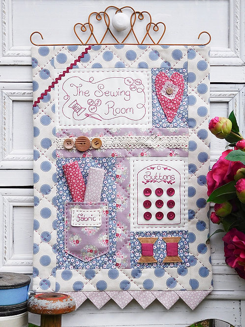 The Sewing Room Wall-hanging Pattern