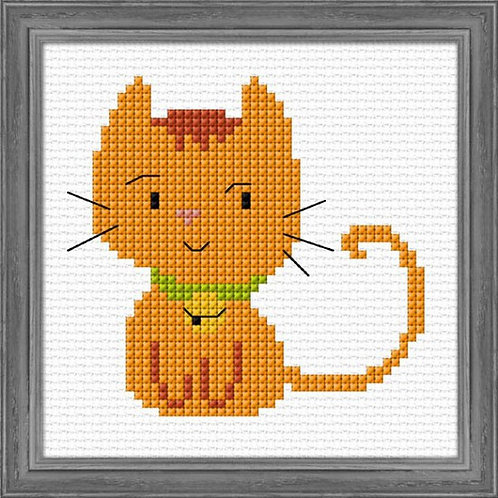 Ginger Kitten Counted Cross Stitch Kit