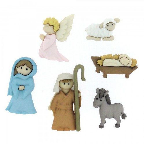Nativity Button Pack