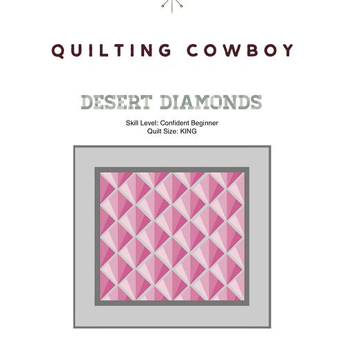 Desert Diamonds Pattern
