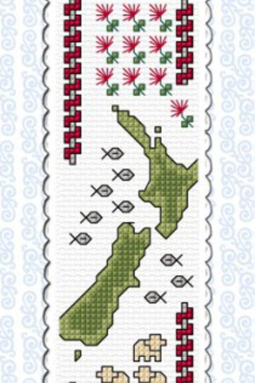 NZ Map and Sheep Bookmark Kit - NZ Designer