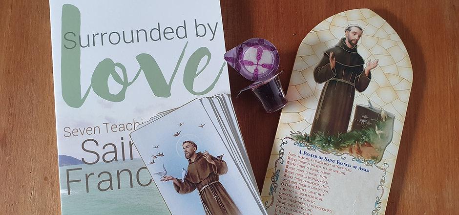 Franciscan Book, Card, Plaque