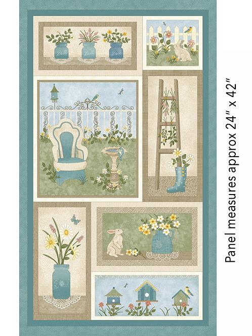 My Secret Garden - Panel (60cm)