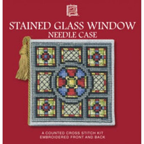 Stained Glass Window Needle Case Kit - Textile Heritage