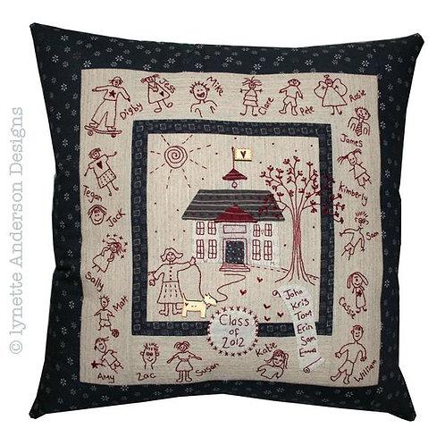My School Pillow Pattern