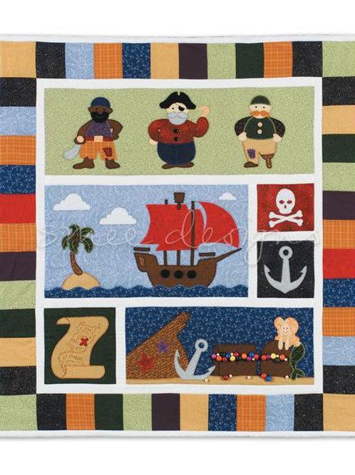 Pirates Ahoy Quilt