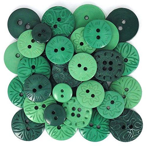 Colour Me Green Button Pack