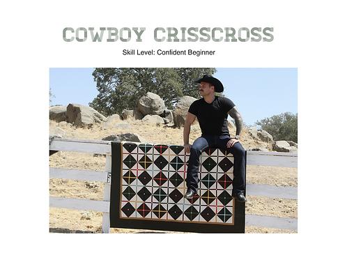 Cowboy Crisscross Pattern
