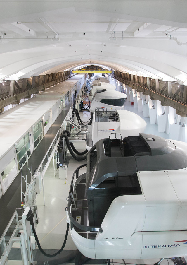 Flight Simulator Hall