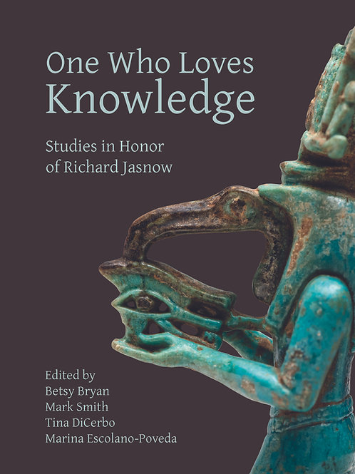 One Who Loves Knowledge: Festschrift in Honor of Richard Jasnow