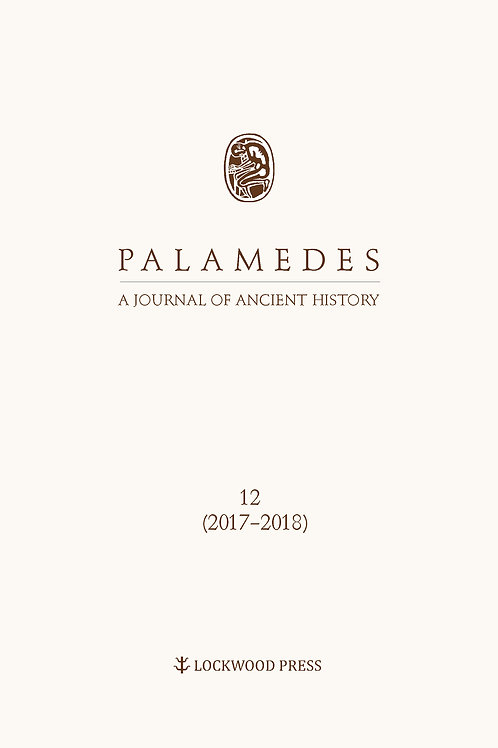 Palamedes: A Journal of Ancient History