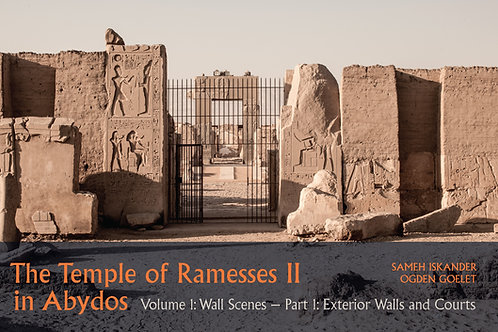 The Temple of Ramesses II in Abydos Volume 1, Wall Scenes
