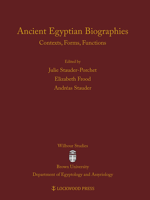 Ancient Egyptian Biographies