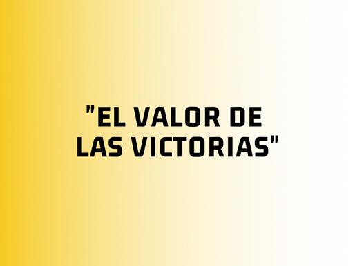 El valor de las victorias