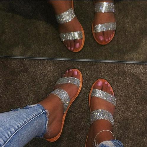 Carter Clear Bling Sandal