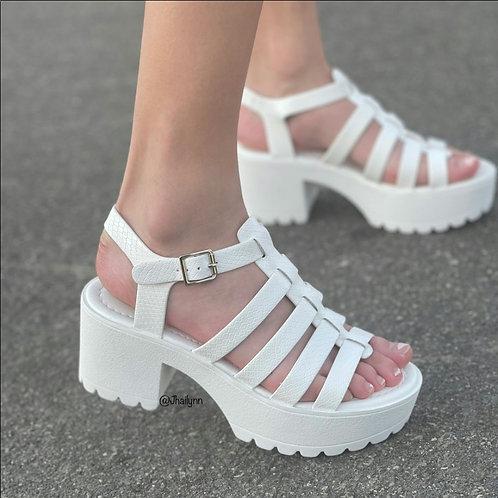 Camy Chunky Lug Sole Sandal