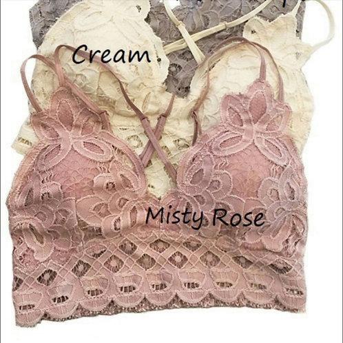 Misty Rose Bralette