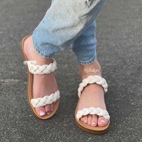 Braided Slip on sandal