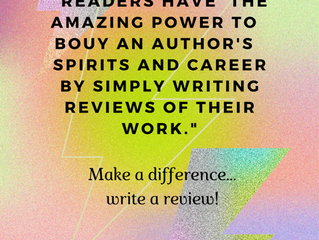 An Author's Drug of Choice: Great Reviews