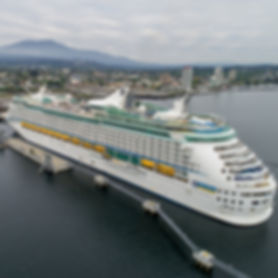 Arrowsmith Aerial Photograhy Nanamo Cruise Ship