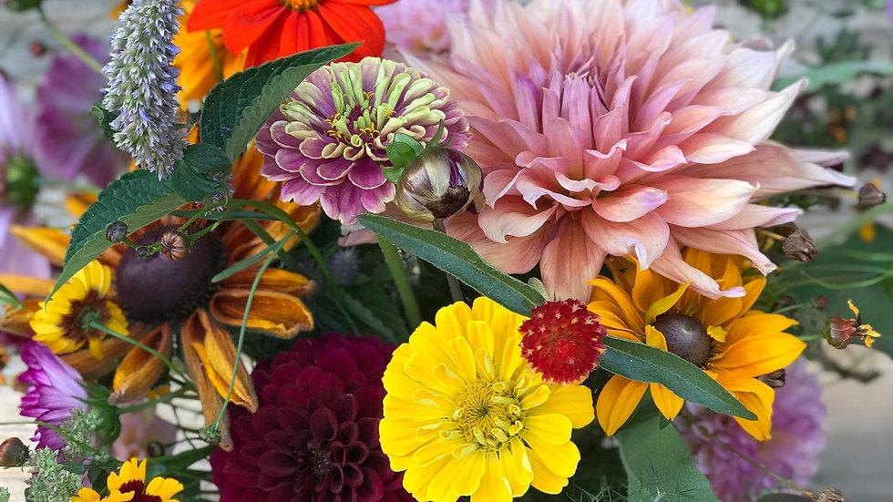 12-Week Fresh Flower CSA Subscription