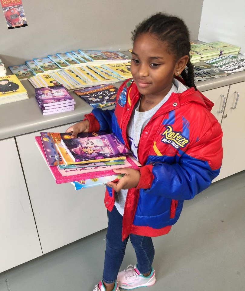 Selections made available from Barbara Bush Houston Literacy Foundation