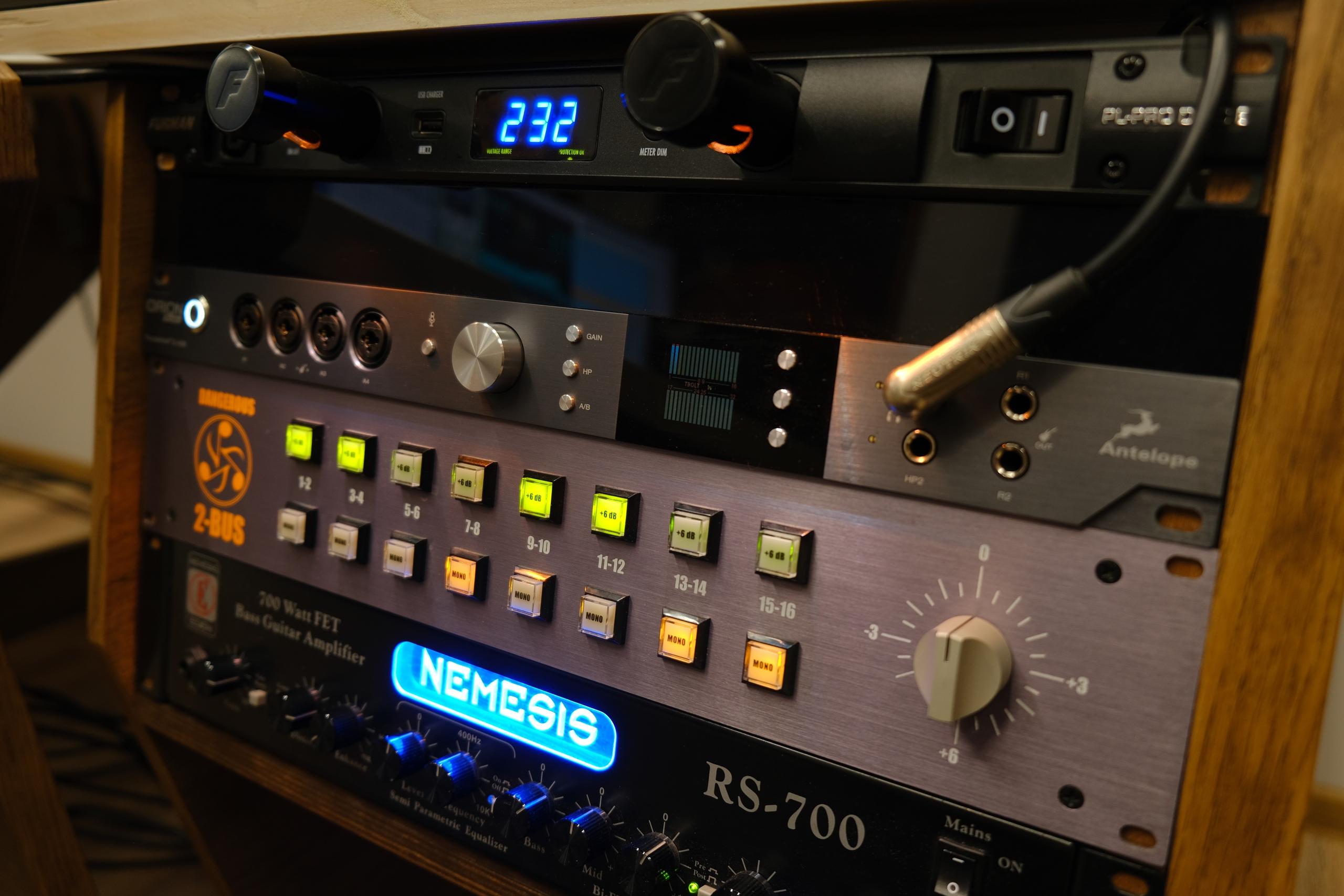 оборудование для записи