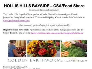 Hollis Hills Bayside - CSA/Food Share