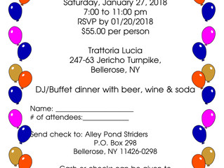Alley Pond Striders Annual Dinner
