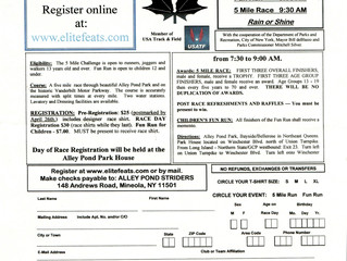 Alley Pond Striders 5 Mile Challenge