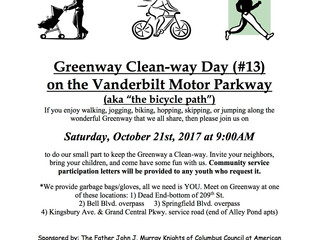 Greenway Clean-way Day