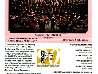 Oratorio Society of Queens 90th Anniversary Concert