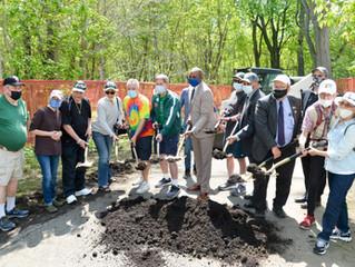 Queens leaders break ground on first phase of Vanderbilt Motor Parkway reconstruction