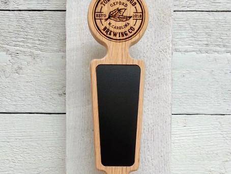 Custom beer tap handles for Gold Medal winner