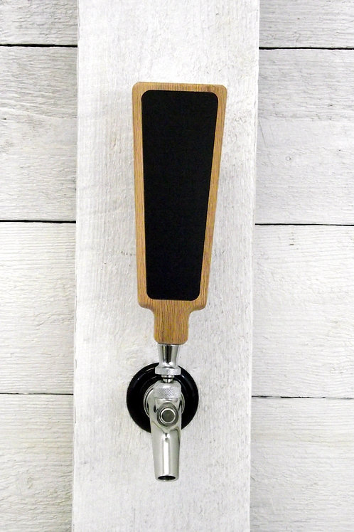Chalkboard dry-erase Beer tap handle 2x6 marker board for all kegerator taps