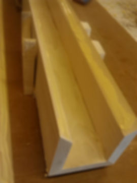 Boards ready to be glued together