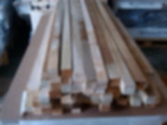 Pre-cut lumber for balusters