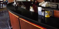 Corian Solid surface bar top