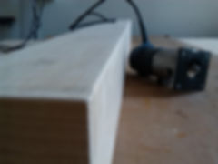 Rounding edges with a wood router